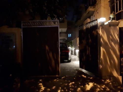 gates-at-night