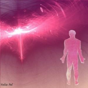 Розовый человек