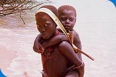 Мальчики из племени Джарава