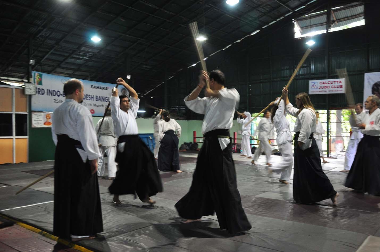 Международный семинар Айкидо стиля Кобаяши, Колката