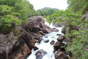 Лососевая река в Egersund Commune (фотография Юлии Пал)