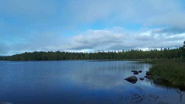 Озеро Святое, о. Соловецкий